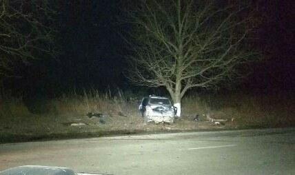 Авто влетело вдерево наЗакарпатье: трое погибших